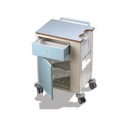 Velador Clínico  540 x 400 x 730 mm
