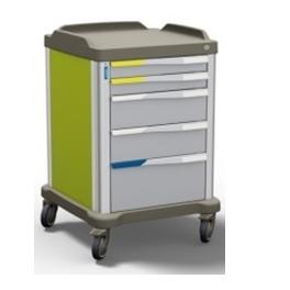 Carro de curación Pediatrico 59 x 57 x 101 cm
