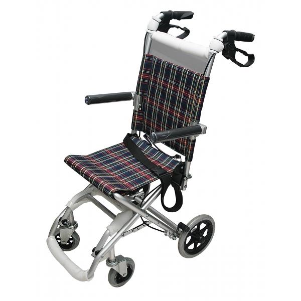 Silla de ruedas de paseo plegable con bolso ortopedia ptm - Silla de paseo 3 ruedas ...